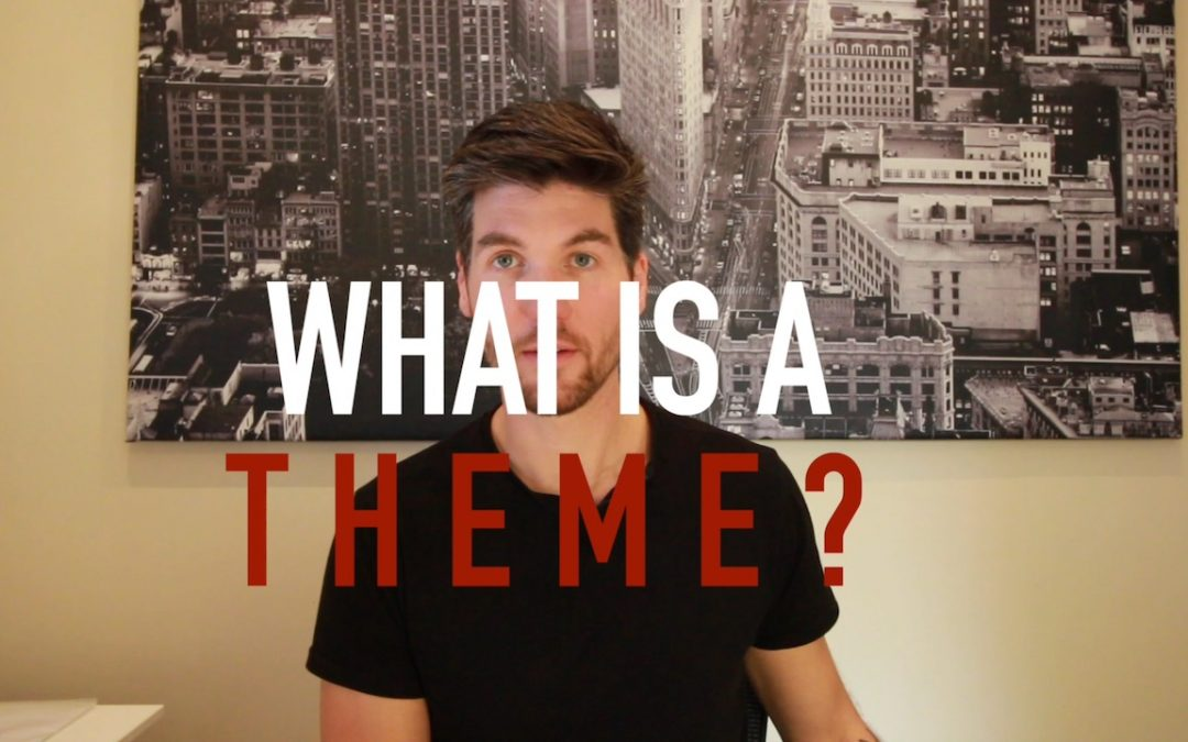 WHAT IS A WEBSITE THEME?